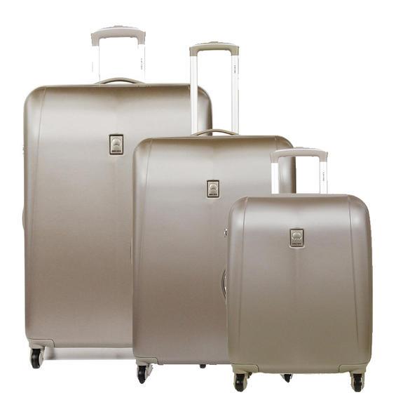 set trolley delsey line extendo 3 cabin medium large buy at outlet prices. Black Bedroom Furniture Sets. Home Design Ideas