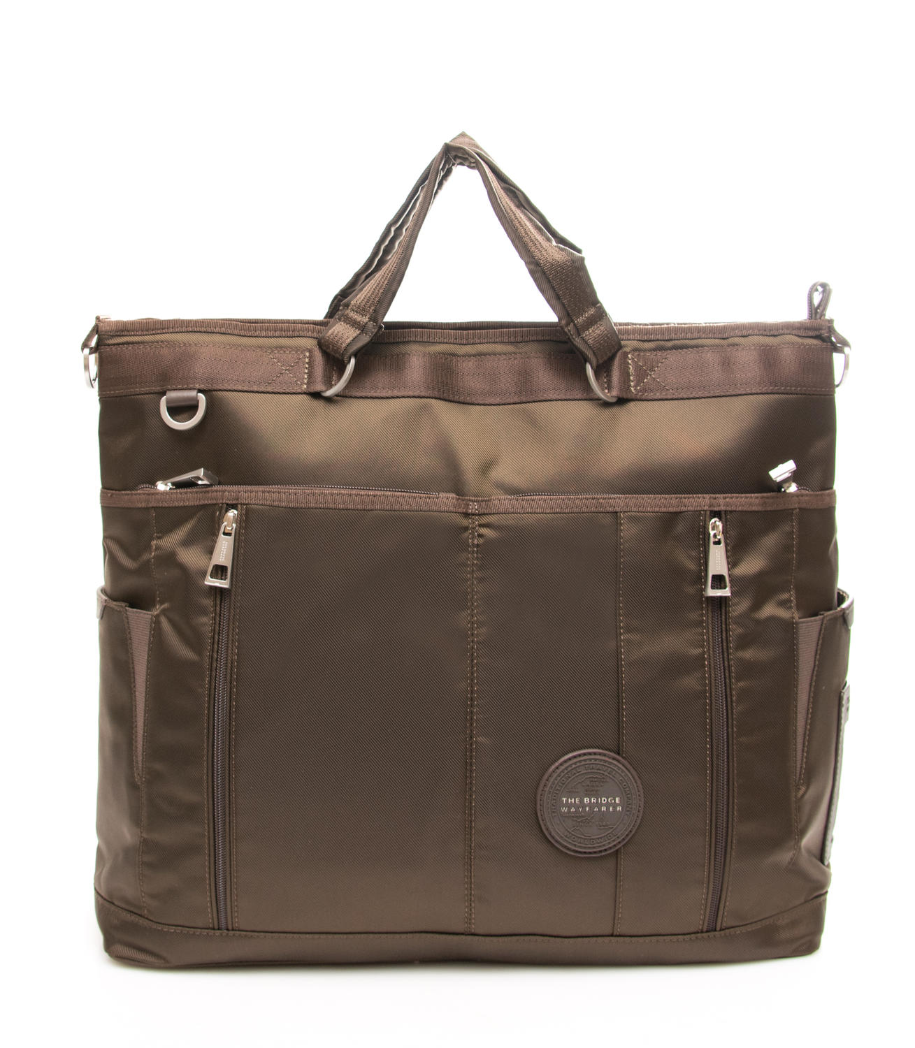 9bc260026c The Bridge Wayfarer Crew Borsa A Mano, Con Tracolla Darkbrown ...