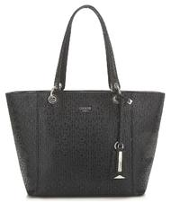 Borsa Guess Shopper Bobbi fantasia bianca