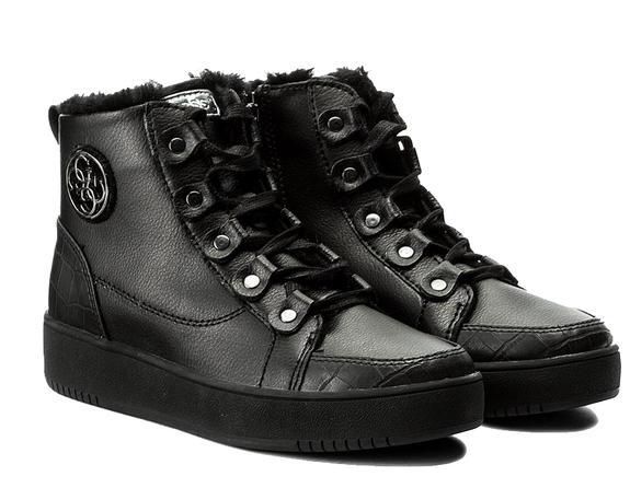 scarpa donna Guess dina footwear active BLACK FLDIN4LEA12BLACK.40