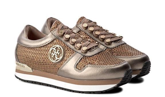 scarpa donna Guess roman lem 12 bronzo FLROM3LEM12BRONZ.38