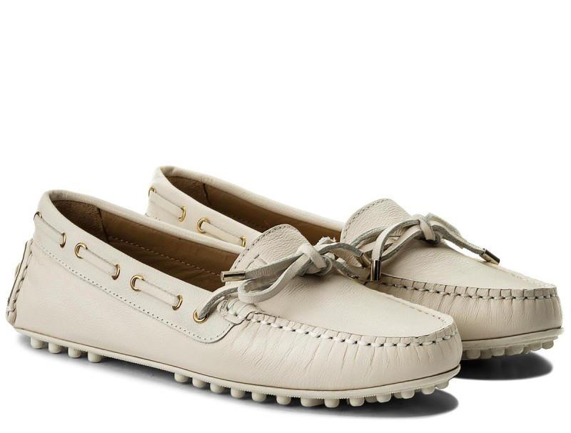 Mocassini Trussardi Jeans In Pelle White - Acquista A Prezzi Outlet! 2f3d6dec652