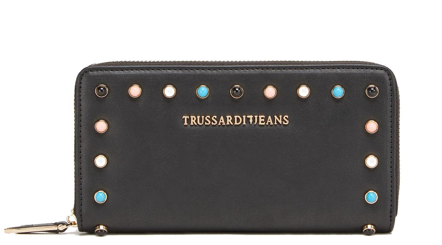 1560baf4cd Portafoglio Trussardi Jeans Linea Acacia Nero - Acquista A Prezzi ...
