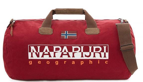 Borsone Napapijri Linea Bering Borgogna - Acquista A Prezzi Outlet! b2041197776f