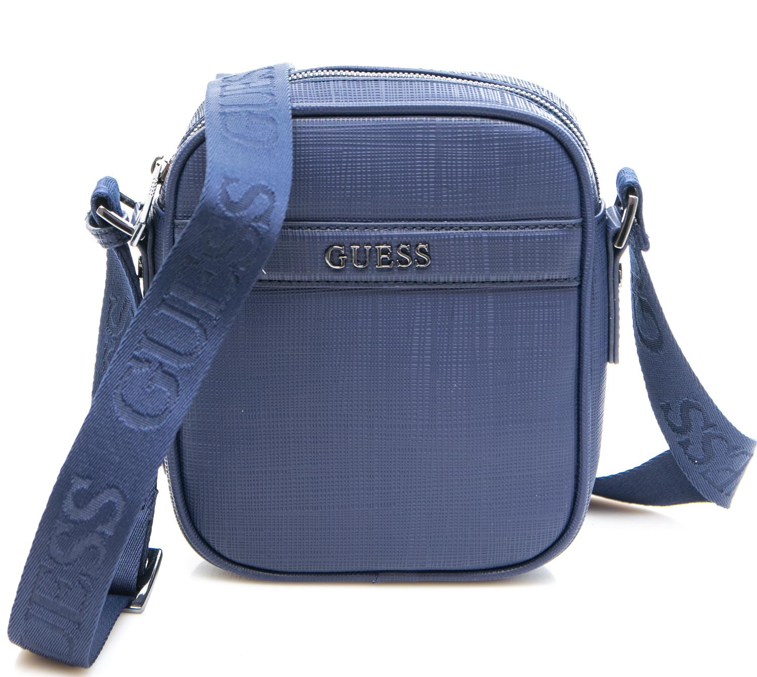 Borsello Guess Linea The Modern Blue - Acquista A Prezzi Outlet! b6471652dd1