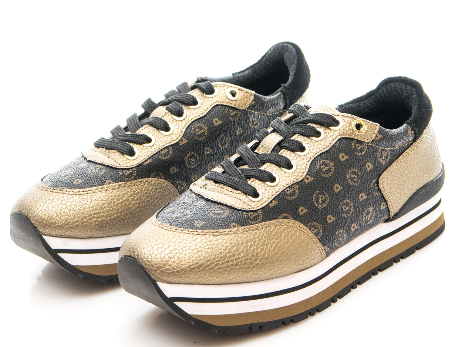 33130f2b3f Sneakers Pollini Heritage Bronze/black - Acquista A Prezzi Outlet!
