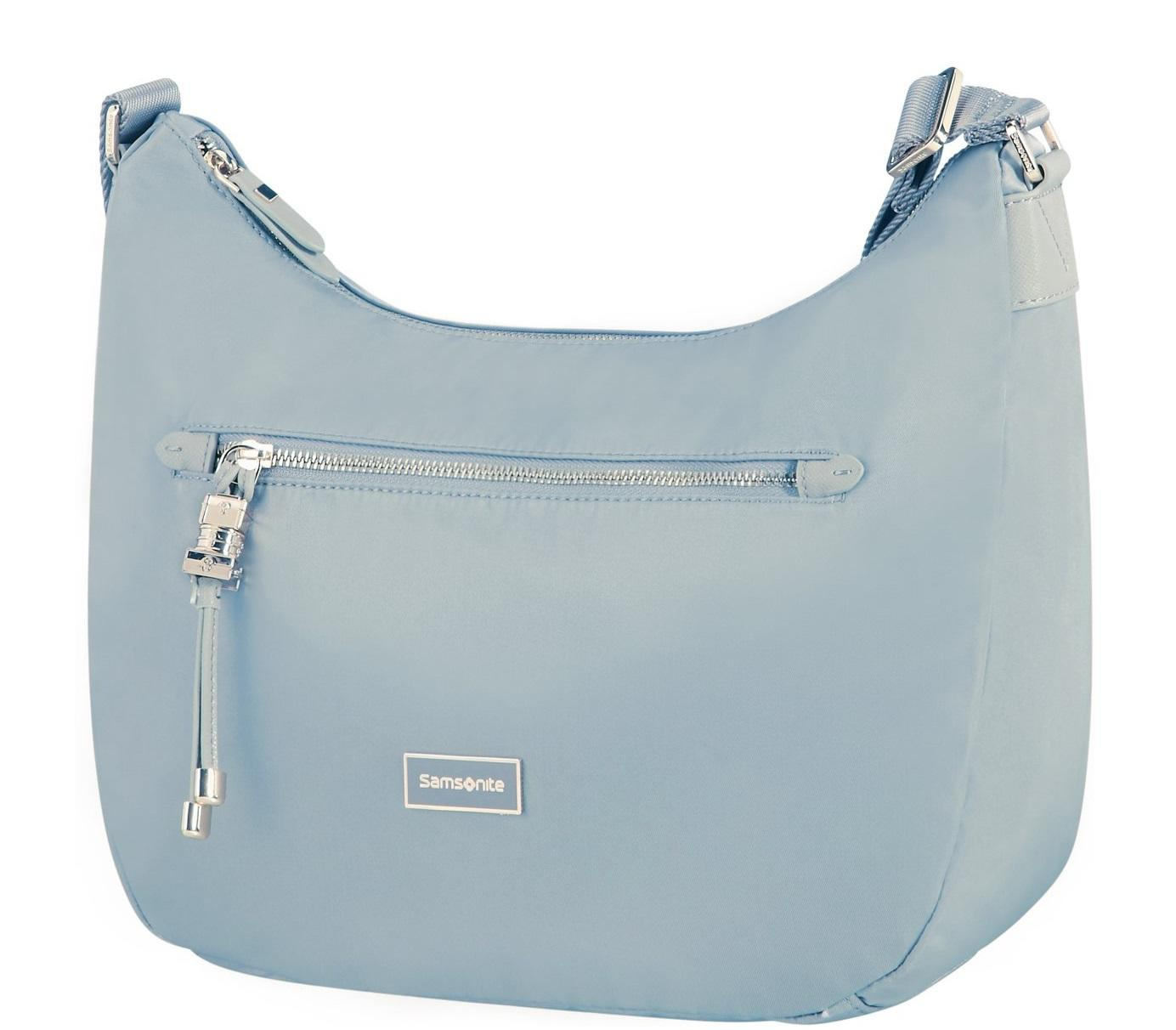 Borse Samsonite.Samsonite Karissa Hobo Borsa A Spalla Candy Blue Acquista A Prezzi Outlet