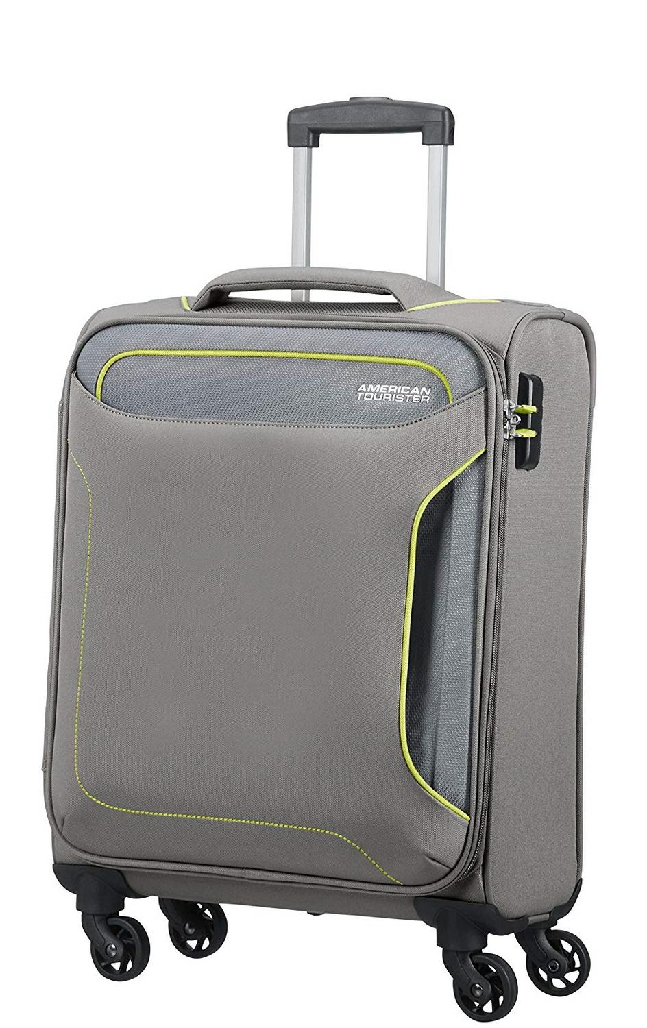 f6a09d7cef666e Trolley American Tourister Linea Holiday Heat Spinner, Bagaglio A ...
