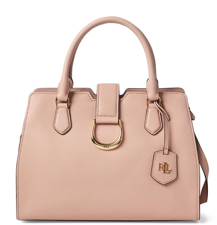 337f141cdc Ralph Lauren Kenton Borsa A Mano, Con Tracolla Mellow Pink ...