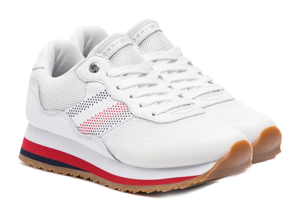 960ee3df3653 Sneakers Tommy Hilfiger Angel Retro' White - Acquista A Prezzi Outlet!
