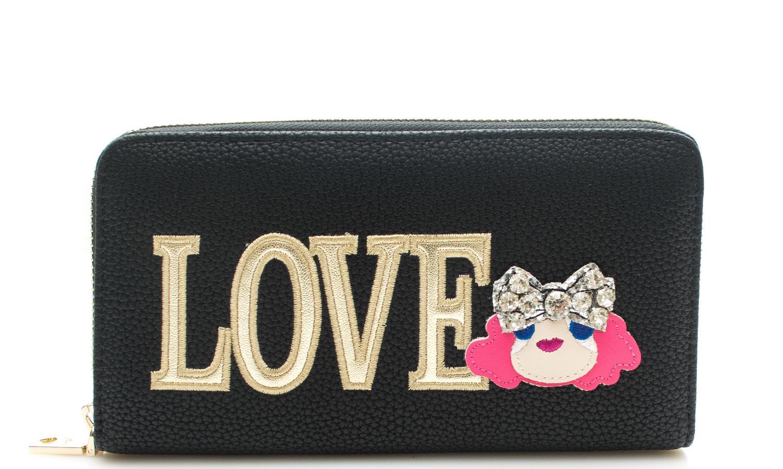size 40 24d47 837df Portafoglio LOVE MOSCHINO