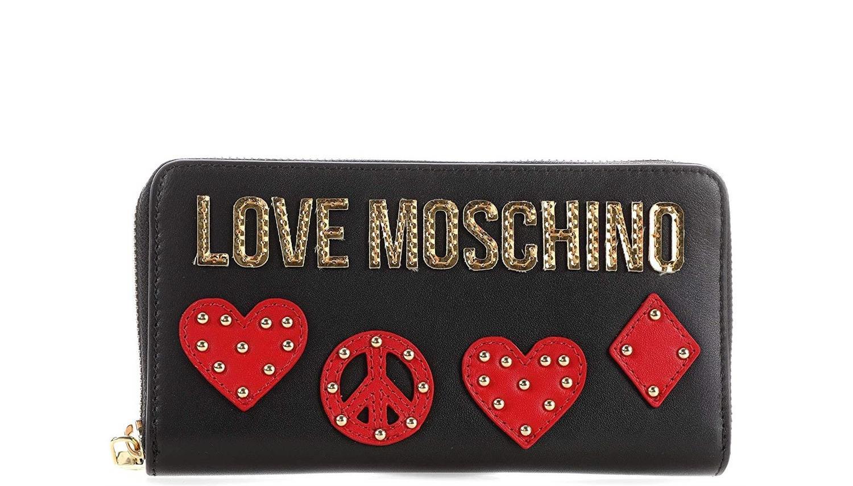 size 40 fae2a e7f5f Portafoglio LOVE MOSCHINO