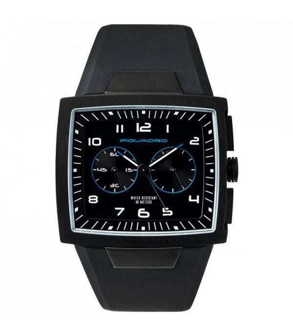 nuovo concetto 3fe66 0b1d2 Orologio Piquadro Tempo E Cronografo Nero - Acquista A Prezzi Outlet!