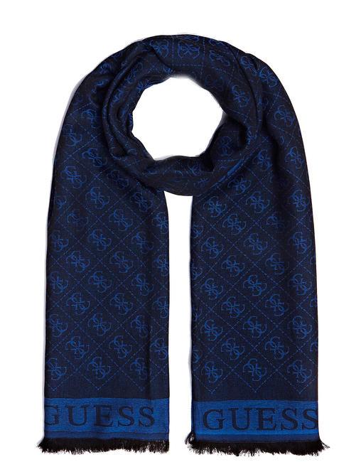 Guess Sciarpa Uomo Foulard & Sciarpe blue originali online