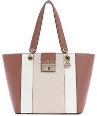 Guess Kamryn Color Block Mini Bag A Tracolla Mocha Multi