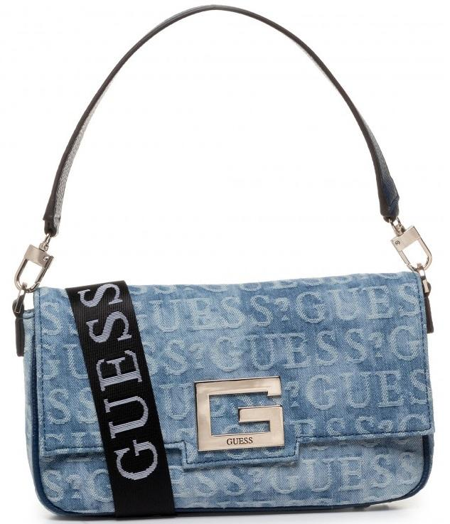 BORSE GUESS DONNA In Love A Mano E Tracolla Colore Denim