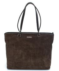 Borse Donna - COCCINELLE Keyla Suede Shopping bag a spalla, in pelle
