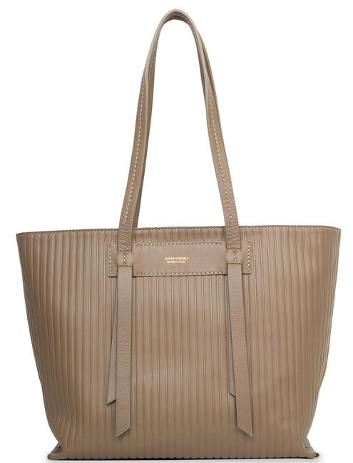 Borse Donna - ANNA VIRGILI Road Letizia Shopping bag a spalla, in pelle