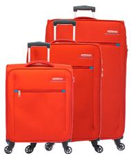 - AMERICAN TOURISTER HYPERFIELD Set trolley: cabin + medio exp + grande exp