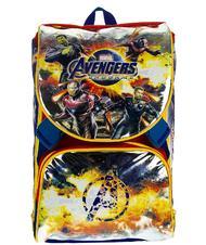 - AVENGERS TEAM TEACH Zaino espandibile, con gadget Action Figure incluso