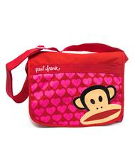 - GUT MESSENGER in tessuto con stampa Paul Frank