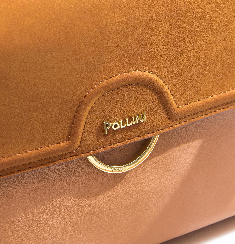 8bd83c3735 Pollini Silver Small Borsa A Mano/a Spalla Nude Cuoio - Acquista A ...