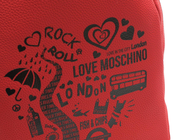 f5b319191b Love Moschino London Zainetto A Spalla Rosso - Acquista A Prezzi Outlet!