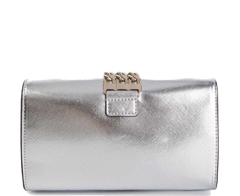 Acquista A Prisma ManoCon Clutch Tracolla Guess Pochette Silver LSMVpGqzU