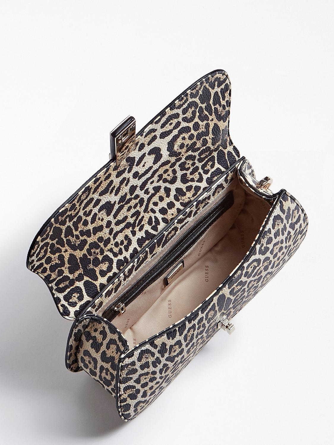 GUESS BEAUTY CASE LEOPARD