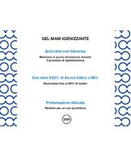 - SANI GEL Igienizzante Mani  500 ml, 62% alcool, con dispenser