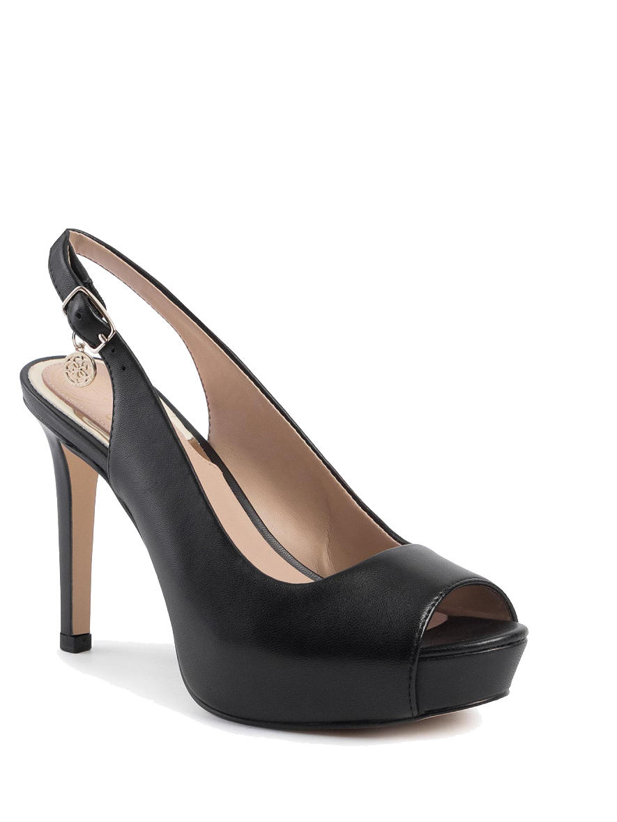 Scarpe Donna -  EDDI Décolleté open toe sling back, in pelle