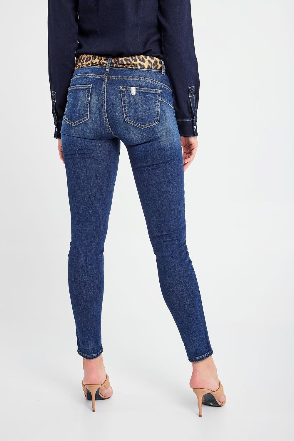 Jeans Donna -  DIVINE BOTTOM UP Jeans stretch