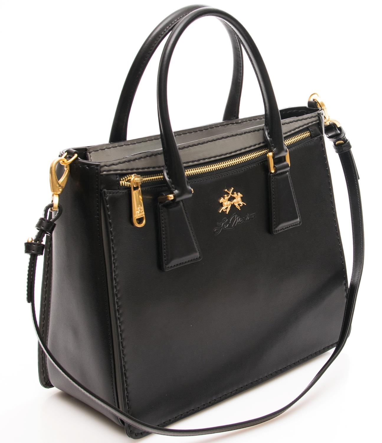 la martina constancia handbag shoulder bag leather buy at outlet prices. Black Bedroom Furniture Sets. Home Design Ideas