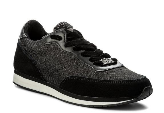 scarpa donna Guess sunny footwear active cotton BLACK FLSUN3FAB12BLACK.37