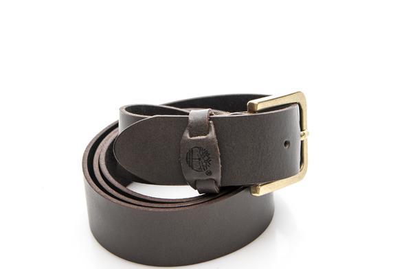 miniatura 3 - cintura uomo Timberland man leather belt cocoa M4890968XL
