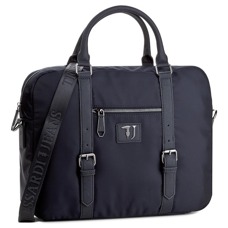 e48c8d7c54 Cartella Trussardi Jeans Linea Brooklyn Blue - Acquista A Prezzi Outlet!
