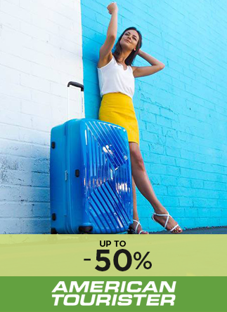 American Tourister up to 50%