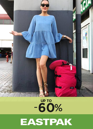 Eastpak up to 60%