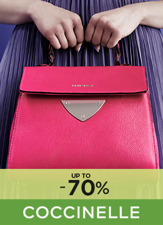 Coccinelle up to 70%