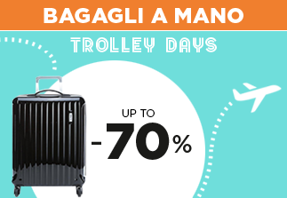 Bagagli a mano up to 70%